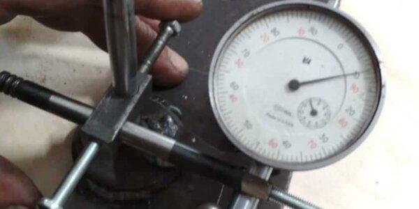 Замер люфта клапана ГБЦ VAG 1.4 TSI Техцентр Сатон