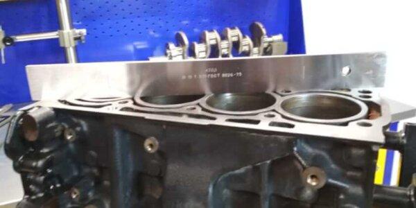 Проверка плоскости блока цилиндров VAG 1.4 TSI техцентр Сатон г. Ставрополь