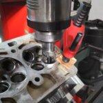 Восстановление фаски седла клапана ГБЦ VAG 1.4 TSI на оборудовании техцентр Сатон Ставрополь