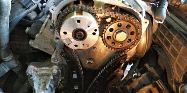 Замена цепи ГРМ VW 1.4 в техцентре САТОН