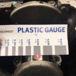Тепловой зазор вкладыша коленвала Kolbenschmidt Plastic Gauge VAG 1.4 TSI техцентр Сатон Ставрополь