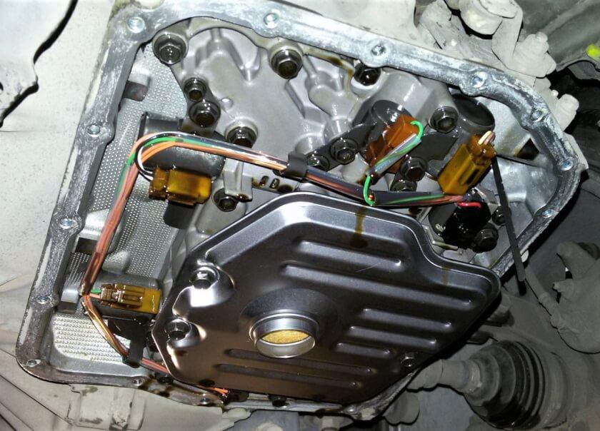 Замена масла АКПП с фильтром Тойота Рав 4 техцентр Сатон Ставрополь